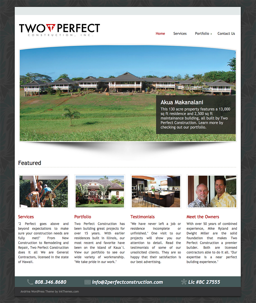 2perfect-website