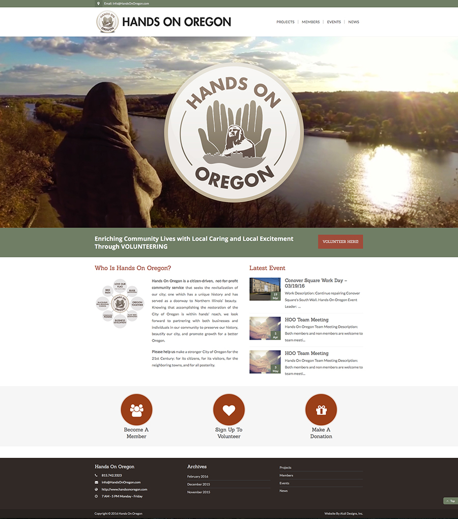 hands-on-oregon-website