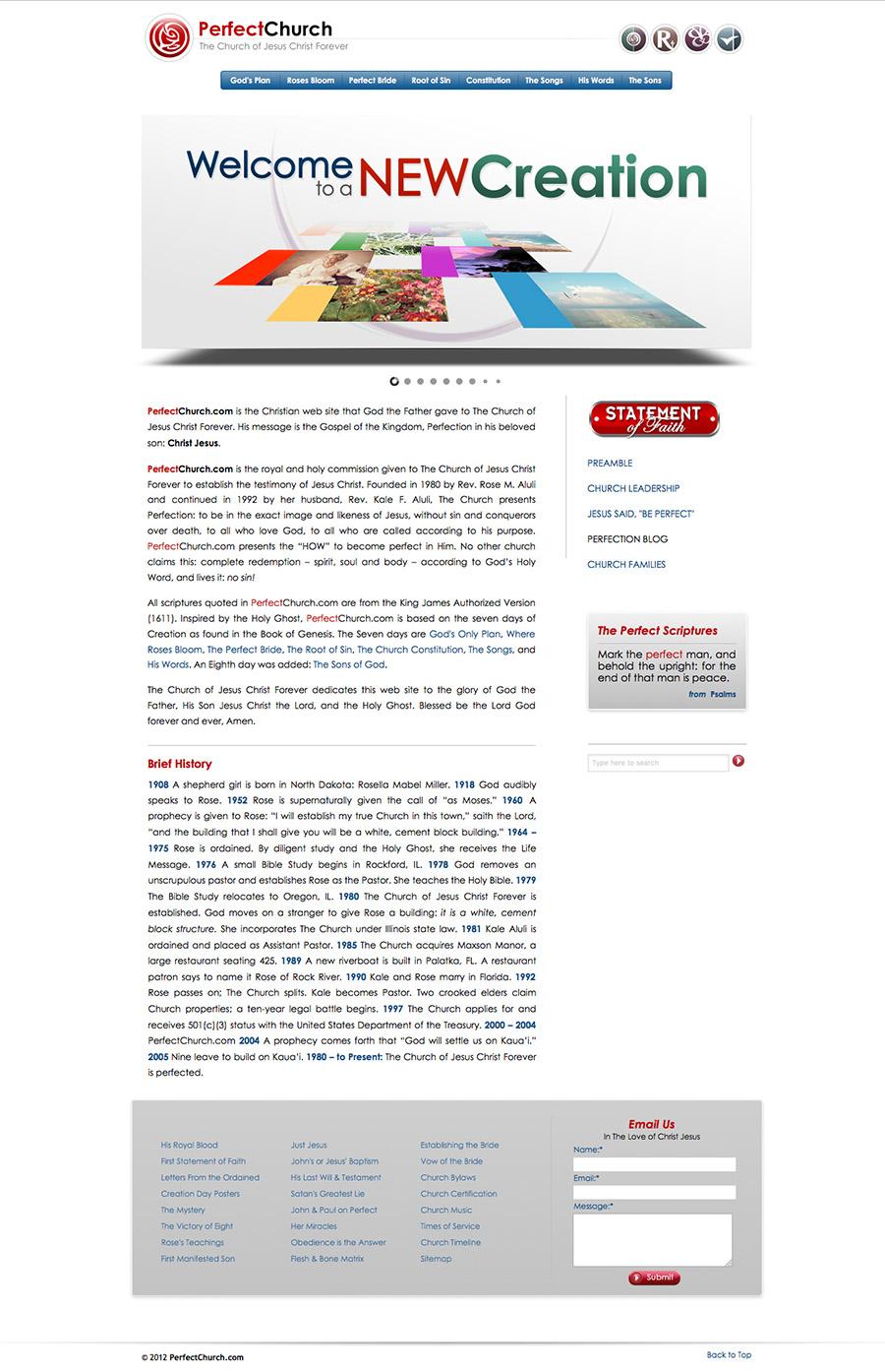 perfectchurch-website
