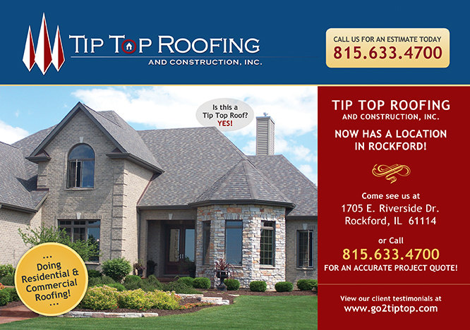 tip top roofing inc